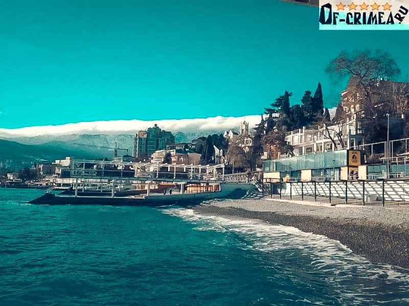 Массандровский пляж - Ялта