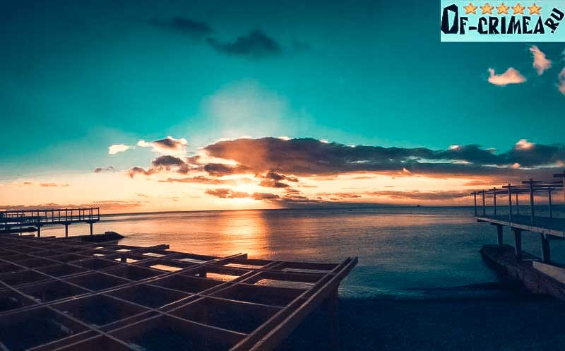 Закат на Массандровском пляже