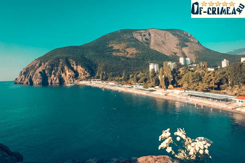 Поселок Партенит в Крыму