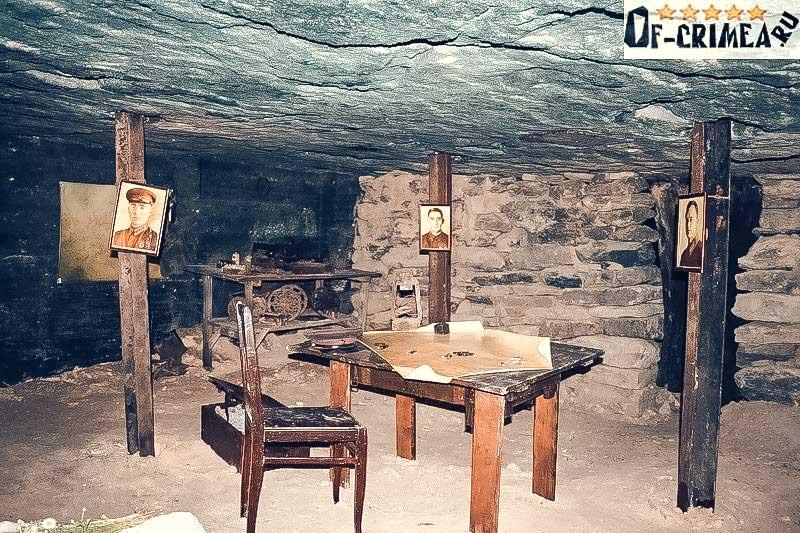 Фото из музея Аджимушкайских каменоломен