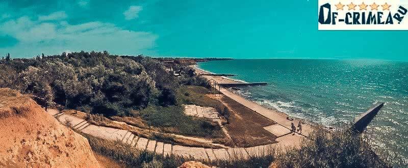 Поселок Андреевка - Крым