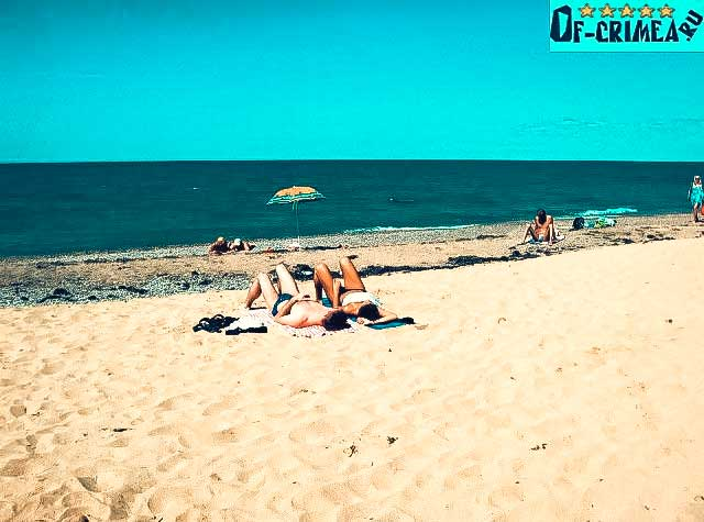 Пляжи Андреевки - Крым