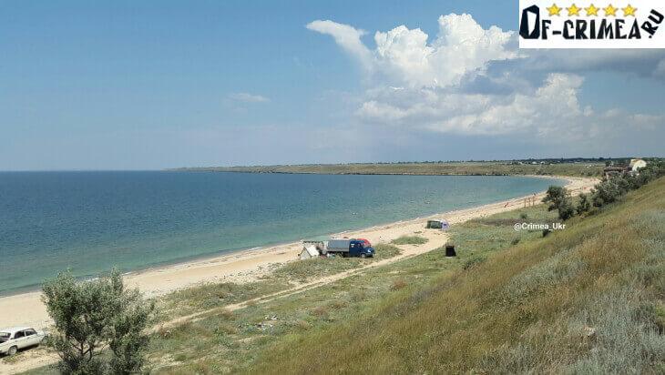 Арабатская стрелка Крым