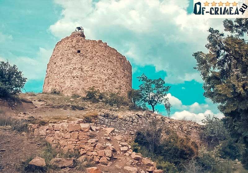 Башня Чобан-Куле сегодня - фото