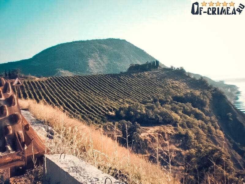 Гора Кастель - фото