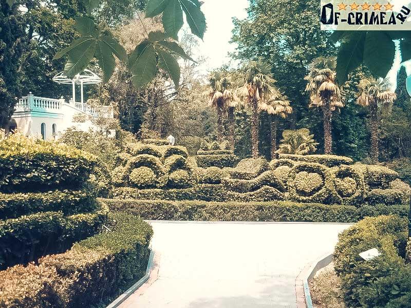 Растительность Гурзуфского парка