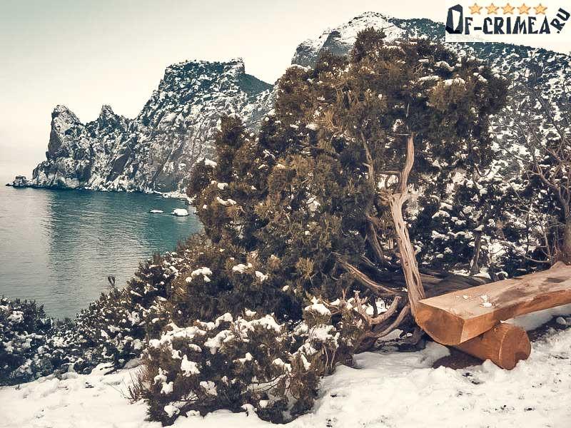 Караул-Оба зимнее фото