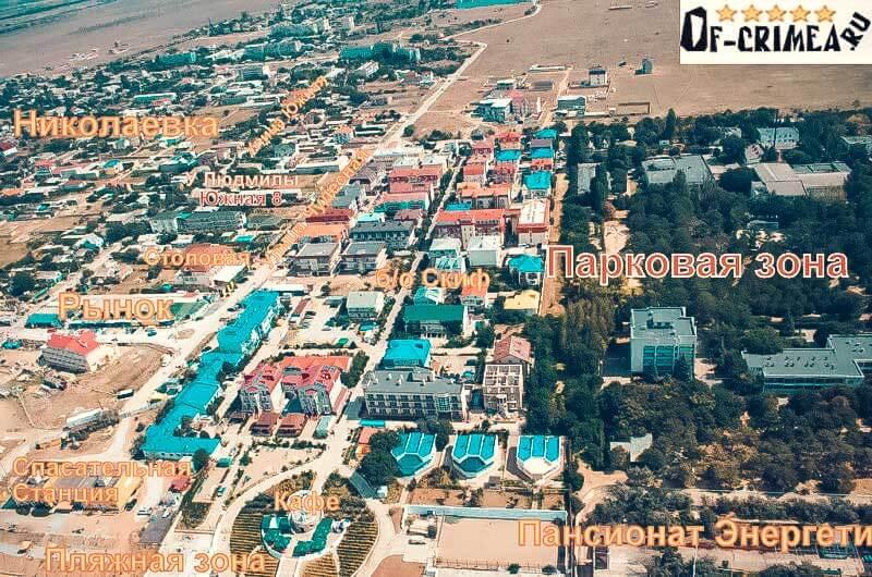 Николаевка - западный берег Крыма
