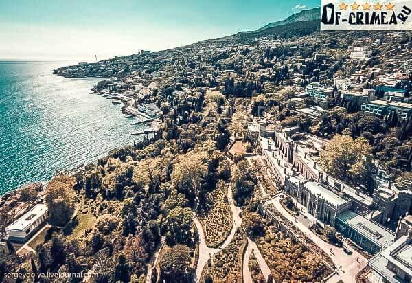 Алупка - небольшой город мечта в Крыму