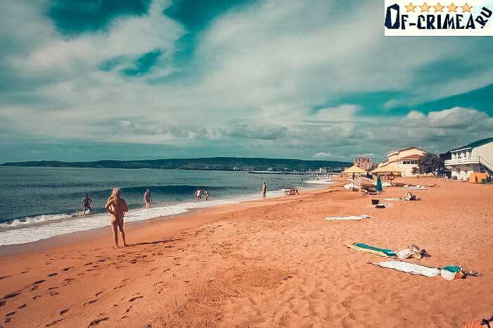 Пляжи в Береговом - фото