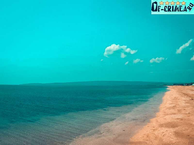 Достопримечательности: Золотой пляж в Поселке Береговое