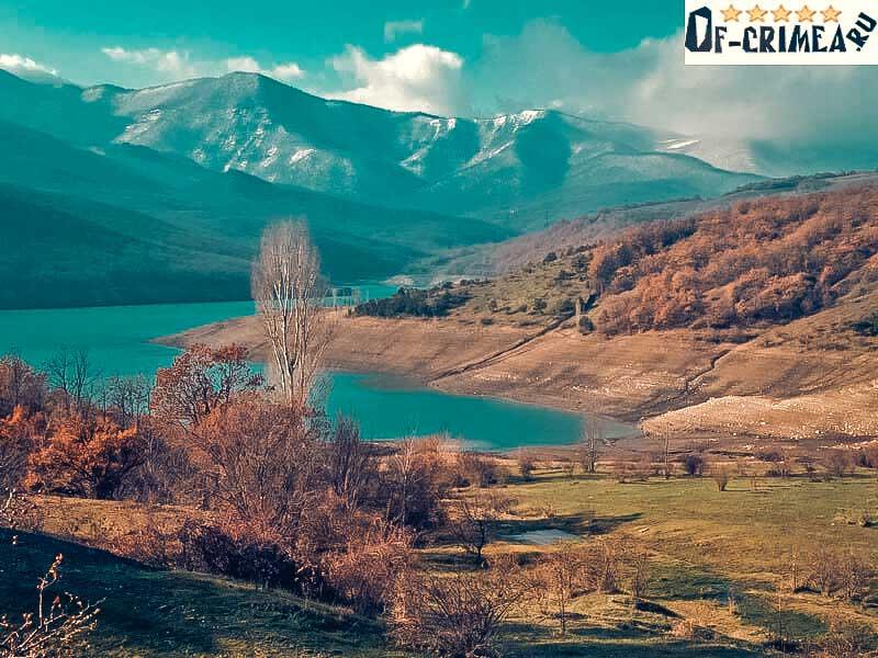 Чернореченское водохранилище и его окрестности - фото