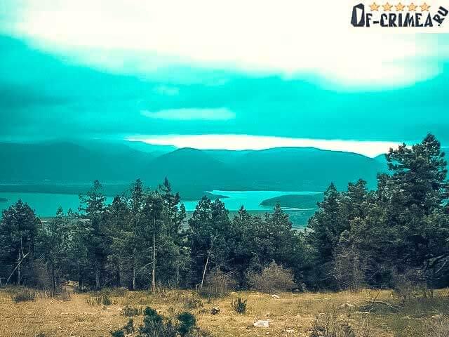 Отдых на Чернореченском водохранилище - летнее фото