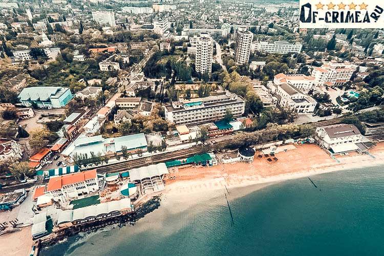 Крупный курортный город Феодосия