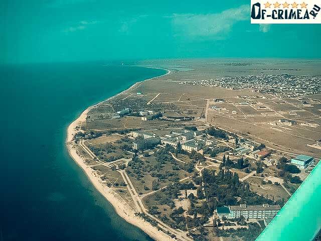 Фотография с воздуха - Заозерное Крым