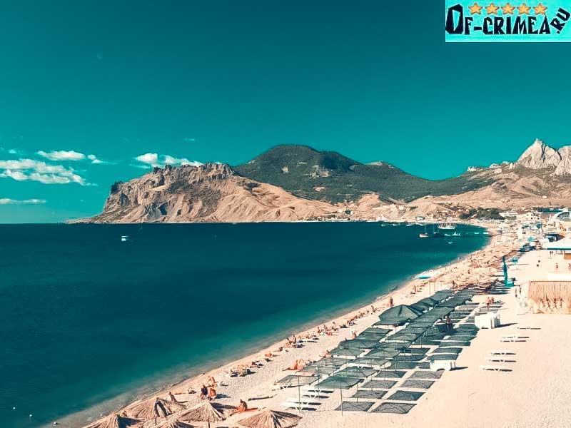 Пляжи Коктебеля - фото
