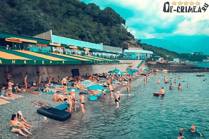 Пляжи в Ливадии - фото