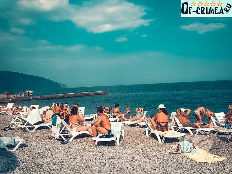 Пляж в Даниловке