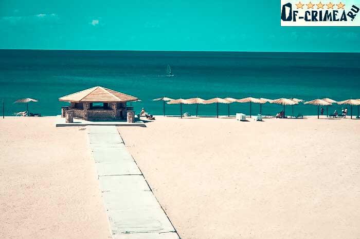 Коса Беляус - пляжи