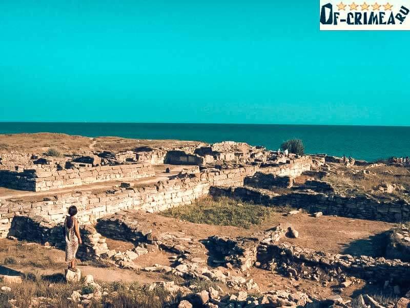 Древнее городище на косе Беляус