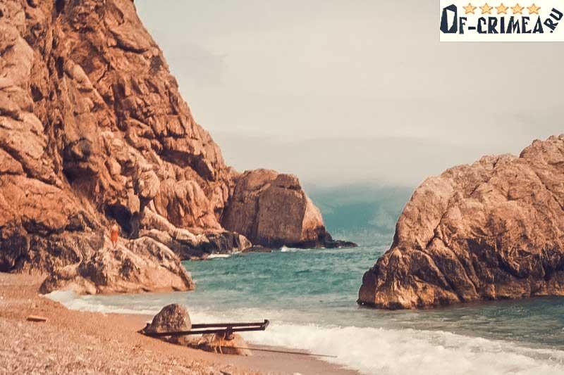 Пляж Васии - Балаклава