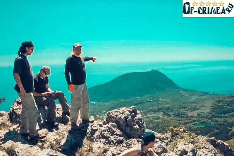 Вид с горы Роман-Кош