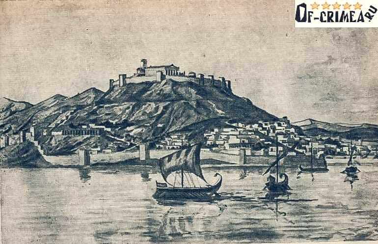 Историческое фото Пантикапея