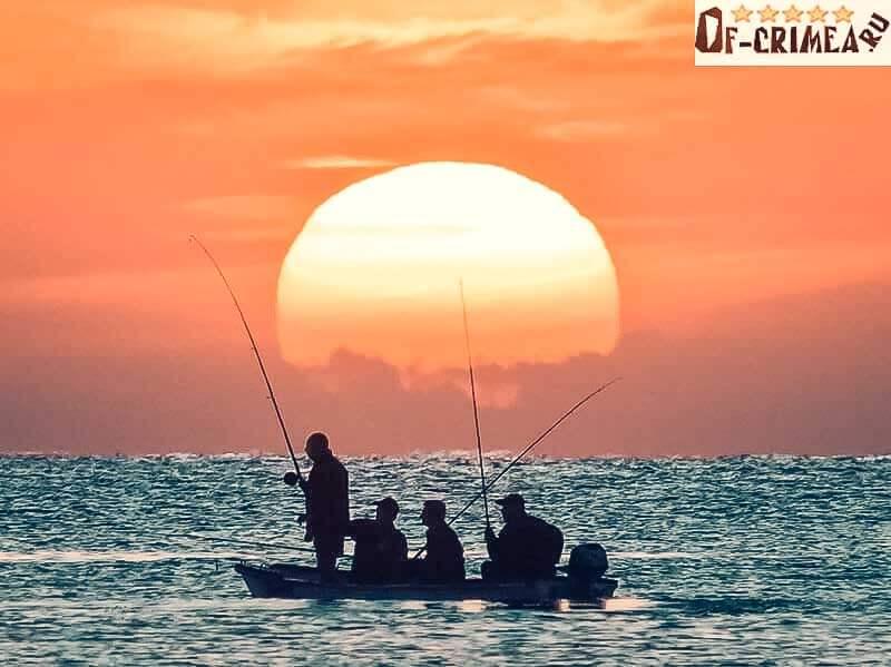 Лучшие места для морской рыбалки в Крыму