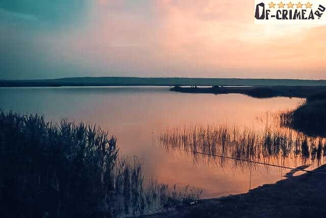 Рыбалка на озерах Крыма