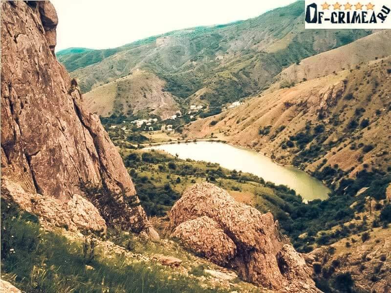 Озеро в урочище Панагия