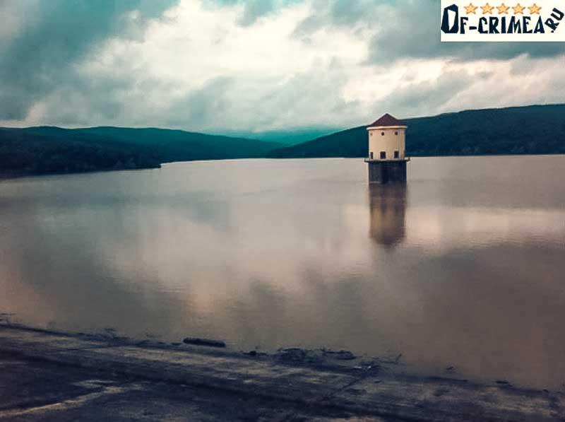 Загорское водохранилище на закате