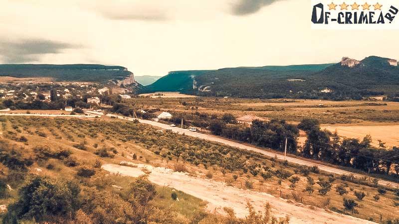 Панорама на Бельбекский каньон