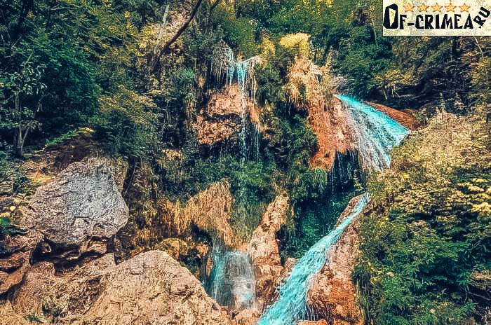 Фото с водопада Су-Учхан