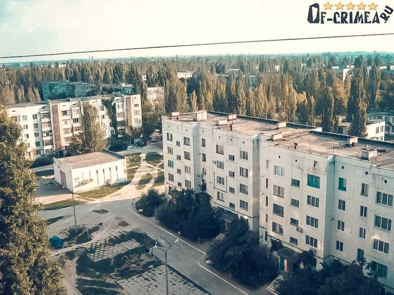 Город Красноперекопск в Крыму