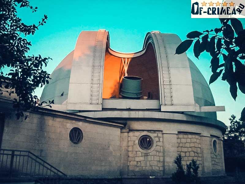 Крымская астрофизическая обсерватория - фото