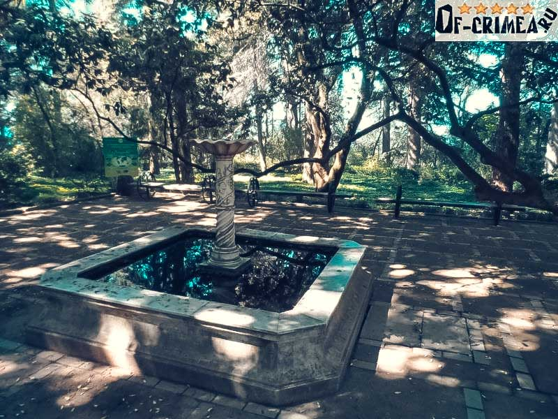 Уникальные места Никитского ботанического сада