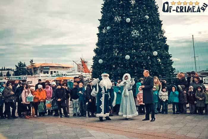 Развлечения на Новый Год в Крыму