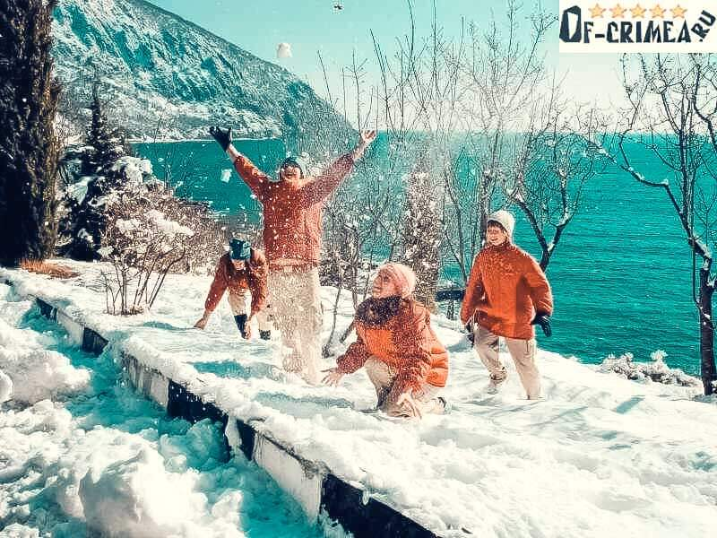 Зимний отзых в Крыму