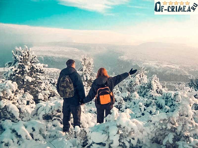 Новый Год в горах Крыма