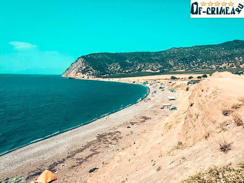 Поселок Весёлое - фото пляжа