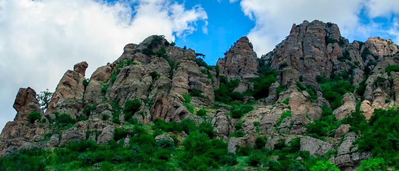 Долина привидений - Крым