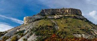 Тепе-кермен - пещерный город