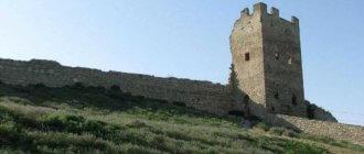 Генуэзская крепость в Феодосии - фото