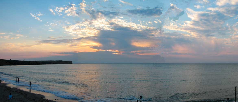 Каламитский залив черного моря