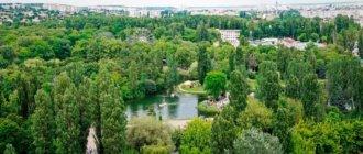 Парк им. Ю. Гагарина, Cимферополь