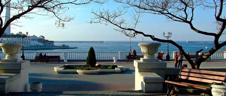 Приморский бульвар в Севастополе