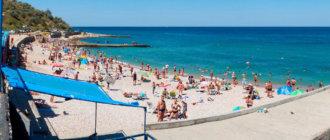 Пляж Толстяк в Севастополе: фото