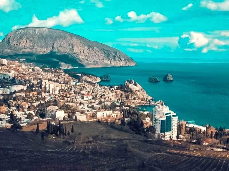 Лучшие курорты Крыма: Гурзуф