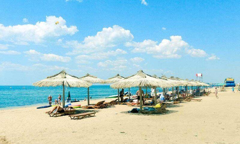 Песчаные пляжи в Крыму