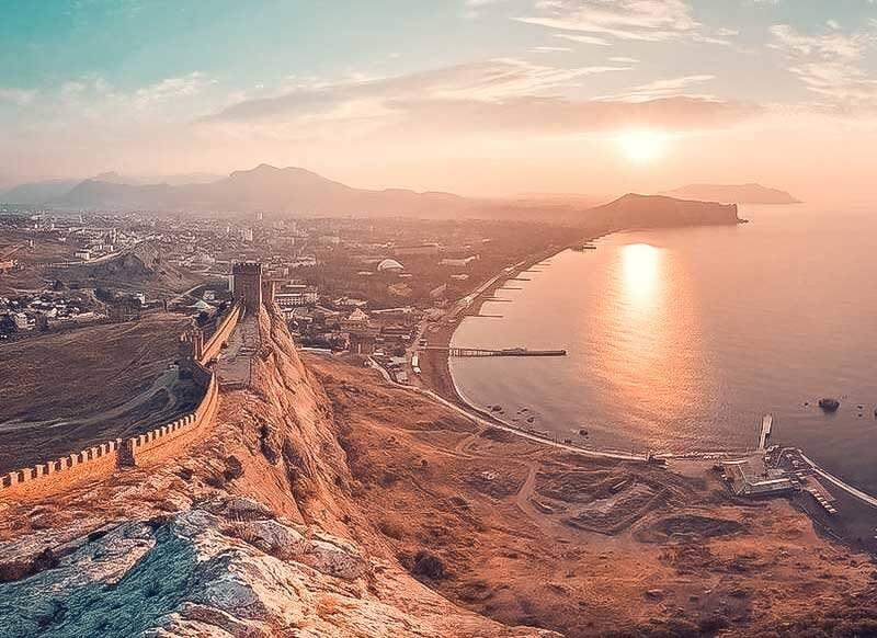 Лучшие курорты Крыма: Судак